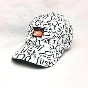 Nike Heritage86 Just Do It Allover Strapback Cap